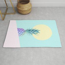 Tropical Pineapple Sunkissed #decor #popart #minimalist Rug