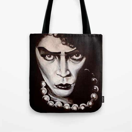 """Rocky Horror Picture Show """"Sweet Transvestite"""" Tote Bag"""
