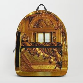 Newport Mansions, Rhode Island - Marble House - Gold Room #2 Backpack