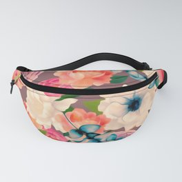 Peachy Blooms Fanny Pack