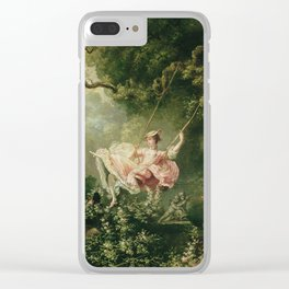Jean-Honore Fragonard - The swing Clear iPhone Case