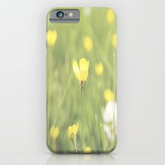 Yellow Flowers in a Field  Slim Case iPhone 6s