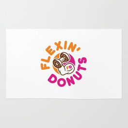 Flexin Donuts Rug