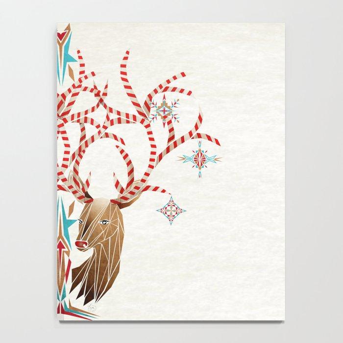 christmas deer Notebook