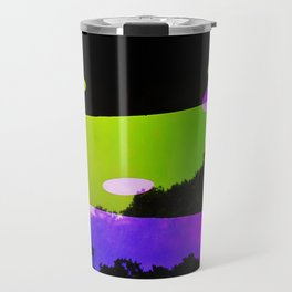 An Altered View of NYC Travel Mug