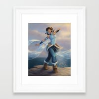 avatar Framed Art Prints featuring Avatar by saehral