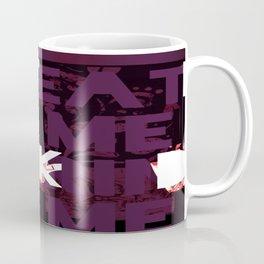 Eat Me Drink Me Pop Art Coffee Mug
