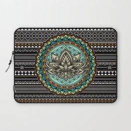 Lotus Mandala Pattern Laptop Sleeve