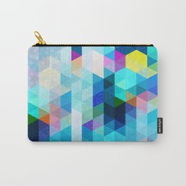 Colorful Pattern Carry-All Pouch