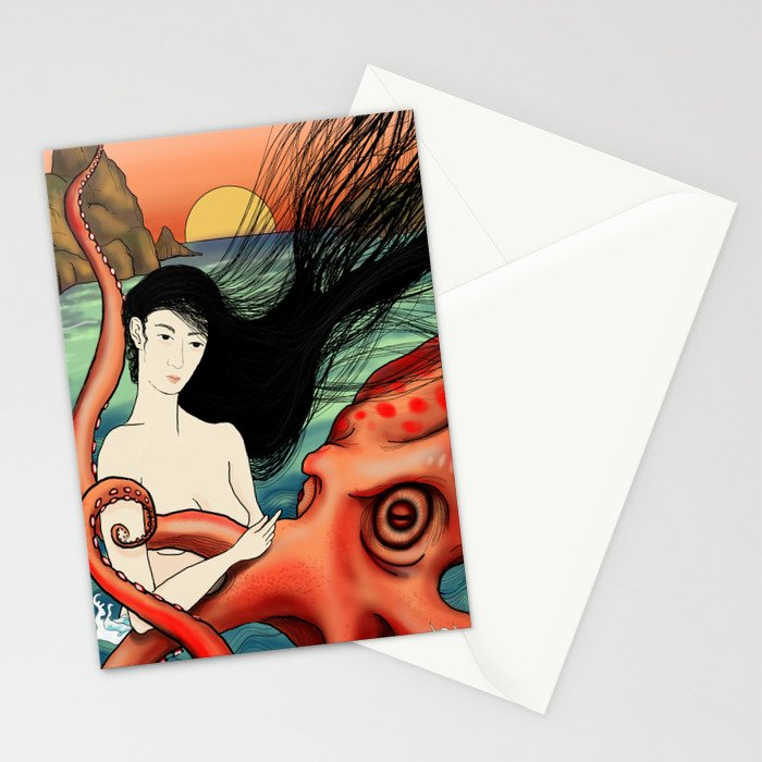 friendly little sucker Stationery Cards