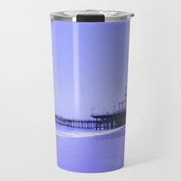 Purple Haze Santa Monica Pier Travel Mug
