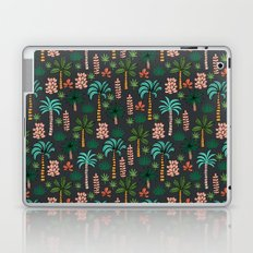 Tropics palm trees pattern print summer tropical vacation design by andrea lauren Laptop & iPad Skin