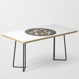 Bronze Medallion Coffee Table