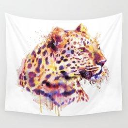 Leopard Head Wall Tapestry