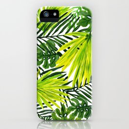 Green Palms iPhone Case