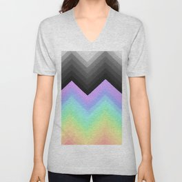 Rainbow Break Unisex V-Neck