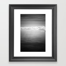 Blocking Rays Framed Art Print