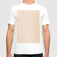 Aida Folch White MEDIUM Mens Fitted Tee