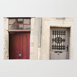Two Doors in France Rug
