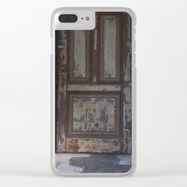 A Door to Nowhere Clear iPhone Case