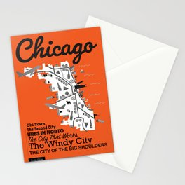 Great Cities: Chicago Stationery Cards