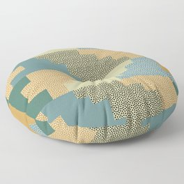 Shapes and dots Floor Pillow