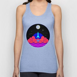 Mission to moon Unisex Tank Top