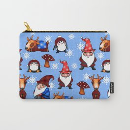 Winter Friends Carry-All Pouch