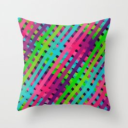 Ribbons Oh So Sweet Throw Pillow