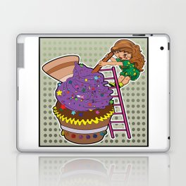 big muffin Laptop & iPad Skin