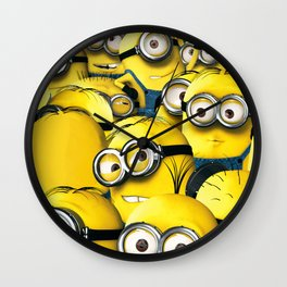 DESPICABLE MINION Wall Clock