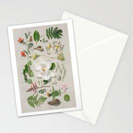 Gulf Coast Botanical Arrangement Stationery Cards
