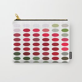 Red Rose Edges Dots Carry-All Pouch