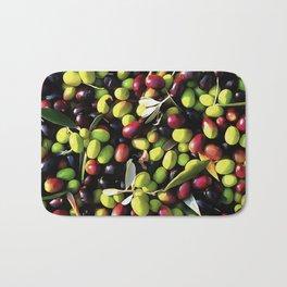 Organic Olives Bath Mat