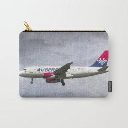 Air serbia Airbus A319 Art Carry-All Pouch
