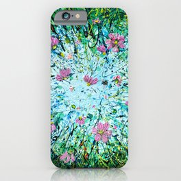 Cosmos Against the Sky   iPhone Case