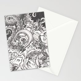 Octopus Prime Stationery Cards
