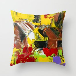 straight no chaser Throw Pillow