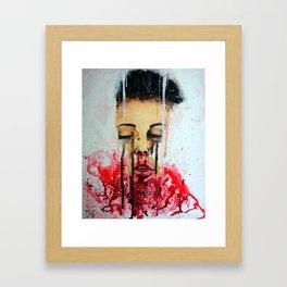 Feel Like I'm Drowning Framed Art Print