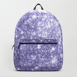 Galaxy Sparkle Dark Lavender Backpack