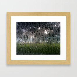 Drops and Drips Framed Art Print