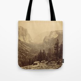 Yosemite Valley from Inspiration Point Tote Bag