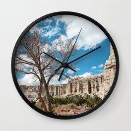 plaza blanca Wall Clock
