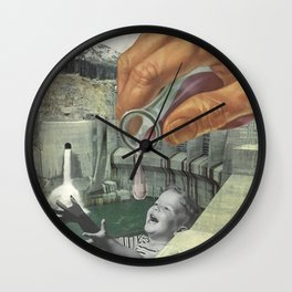 Dying of Thirst Wall Clock