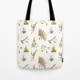 Native American tribal print Tote Bag