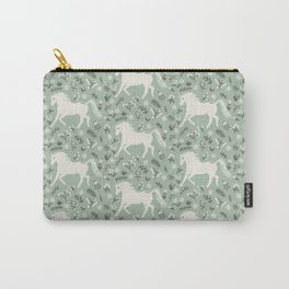 Unicorn Gardens Carry-All Pouch