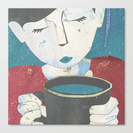 Morning Elixir Canvas Print