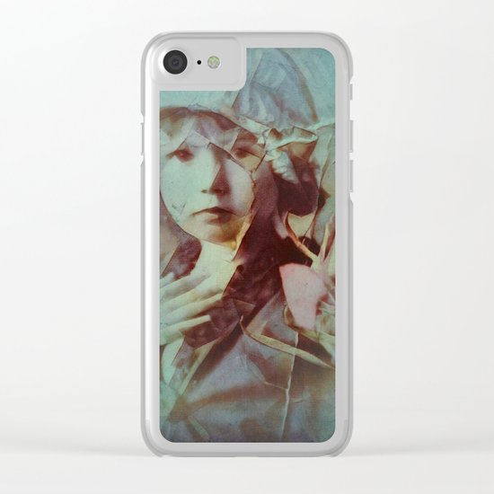 Memory 05 Clear iPhone Case