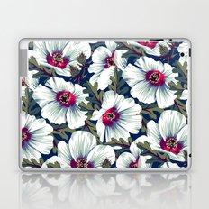 New Zealand Hibiscus Floral Print (Night) Laptop & iPad Skin