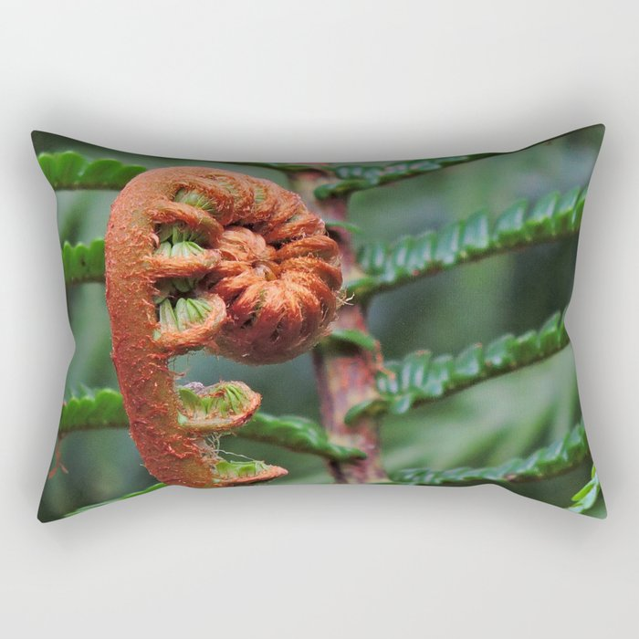 Hapu'u Curl Rectangular Pillow